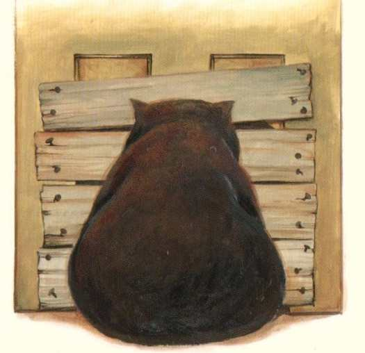 Diary of a Wombat back view