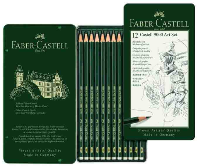 Faber Castell Sketching Pencils