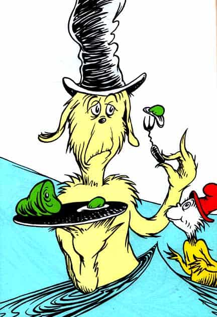 Dr Seuss Green Eggs And Ham
