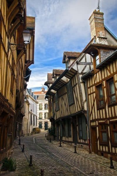 Troyes Champagne Street Scene