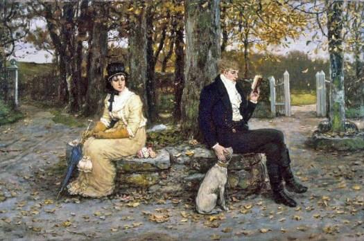 George Henry Boughton - The Waning Honeymoon