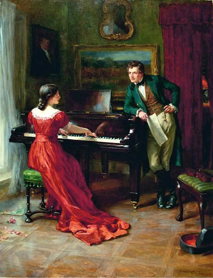 George Sheridan Knowles - The Duet