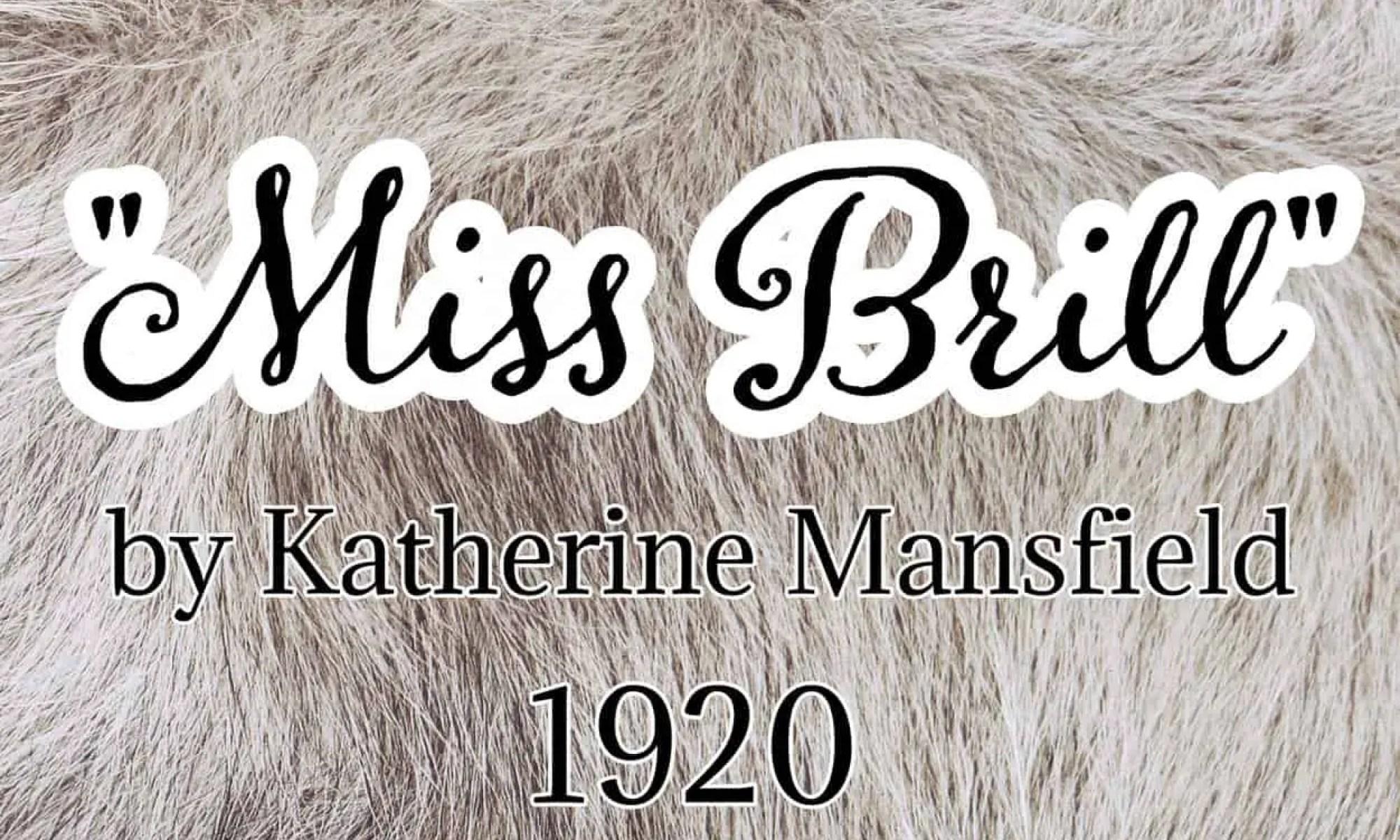 Miss Brill Katherine Mansfield