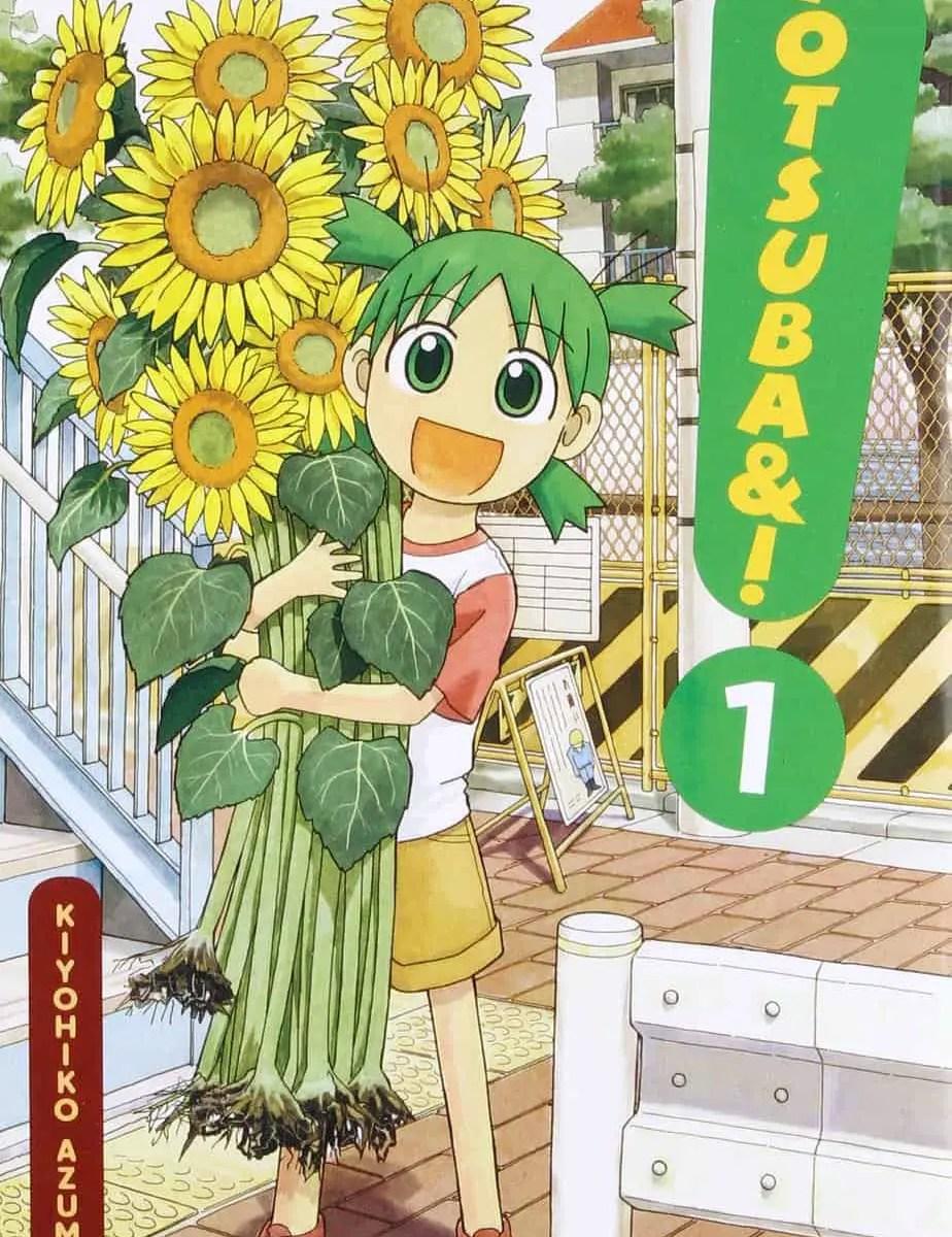 Yotsuba 1 cover