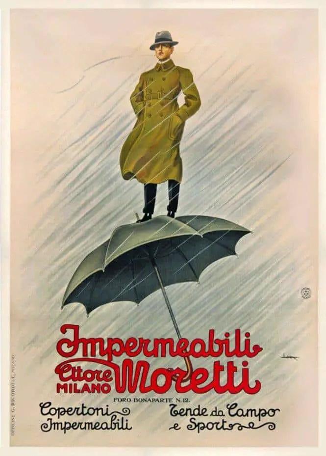 Poster by Leopoldo Metlicovitz, circa 1930