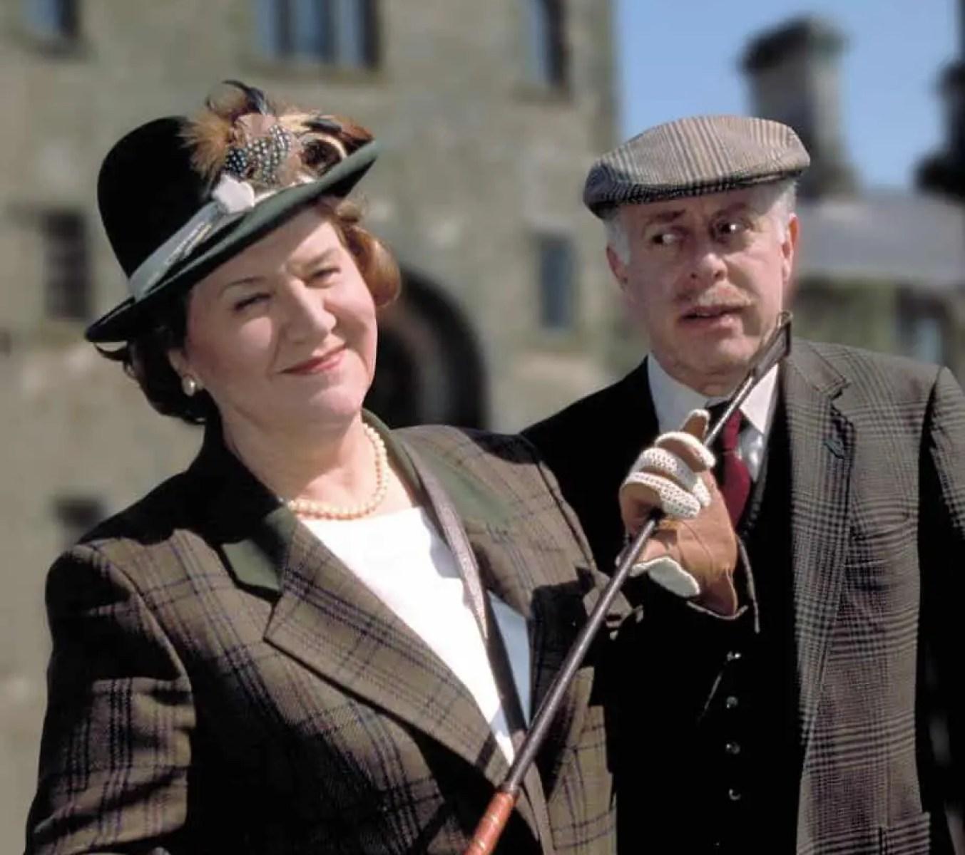 socially aspiring woman Hyacinth Bucket and her husband Richard