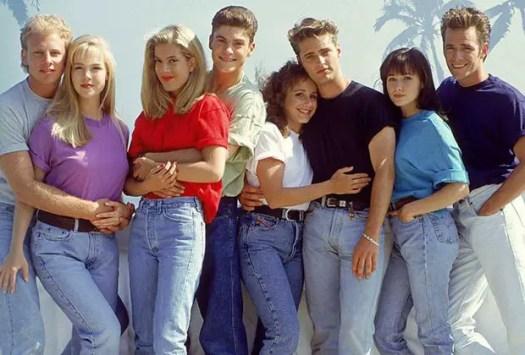 original cast of Beverly Hills 90210