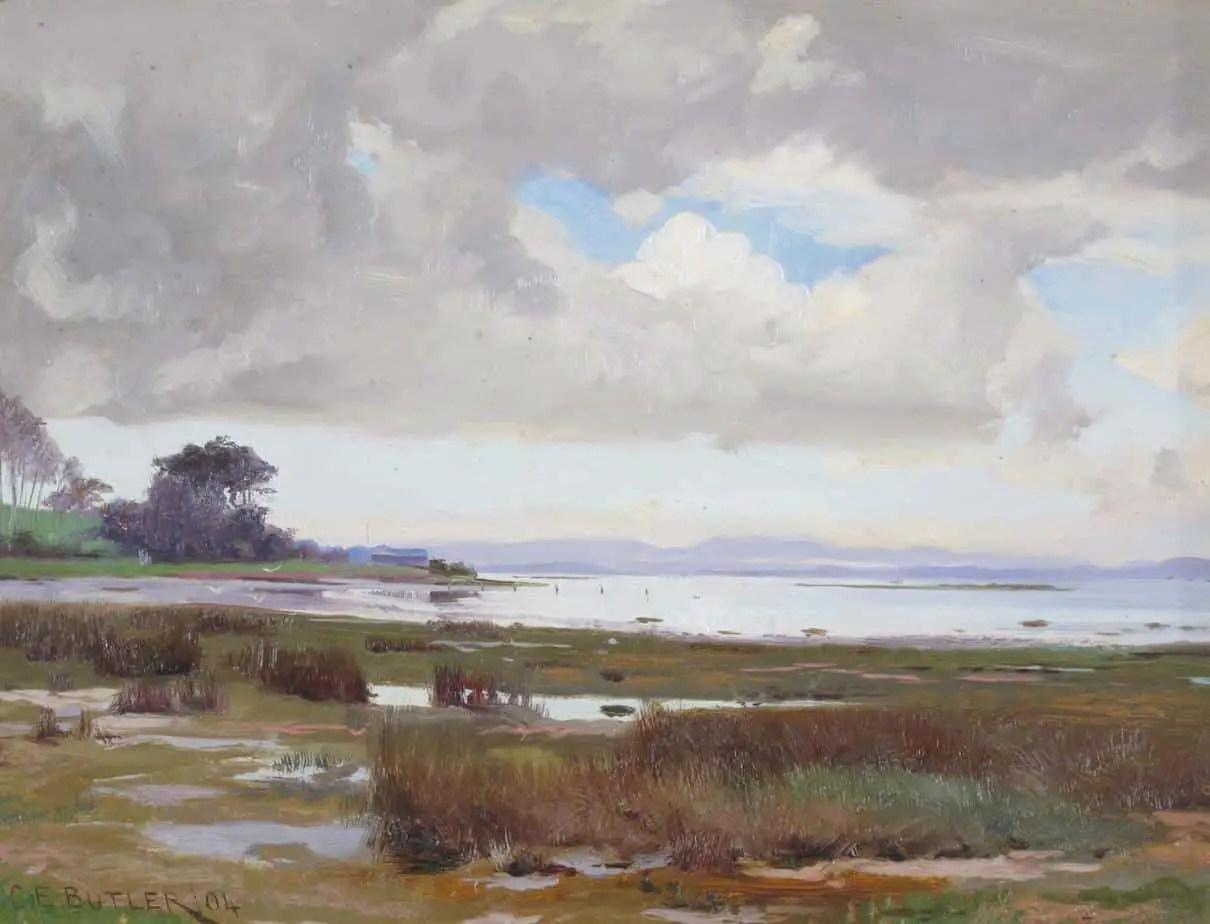 Charles Ernest Butler - Poole Harbour, Dorsetshire 1904