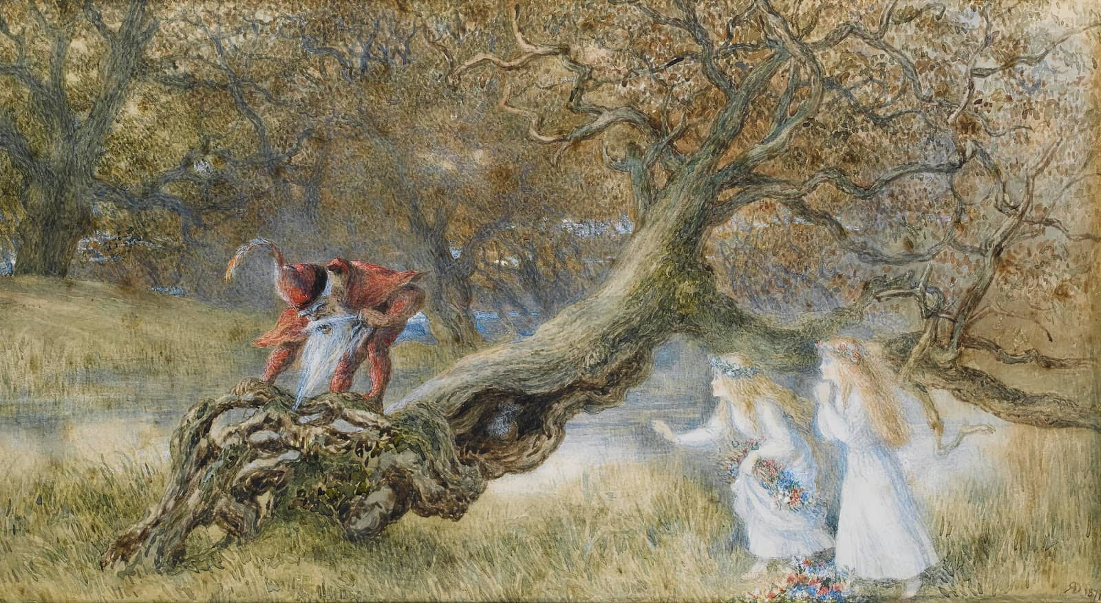 Richard Doyle - Snow White and Rose Red 1877