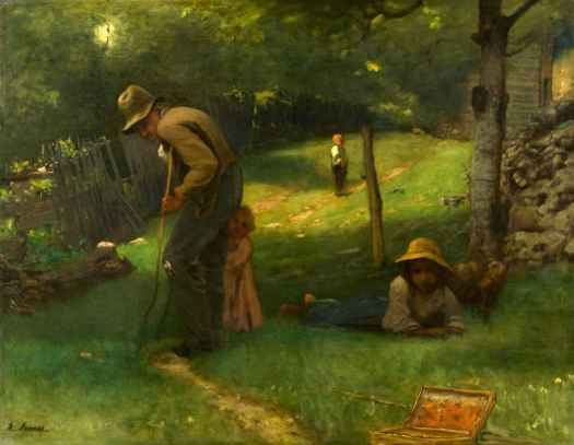 George Inness - The Old Veteran