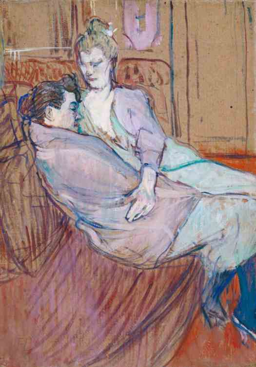 Henri de Toulouse-Lautrec The Two Friends 1894
