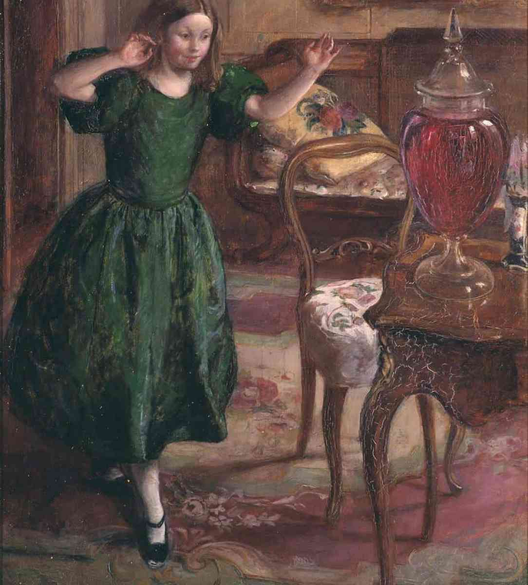 Rosamund and the Purple Jar exhibited 1900 Henry Tonks 1862-1937