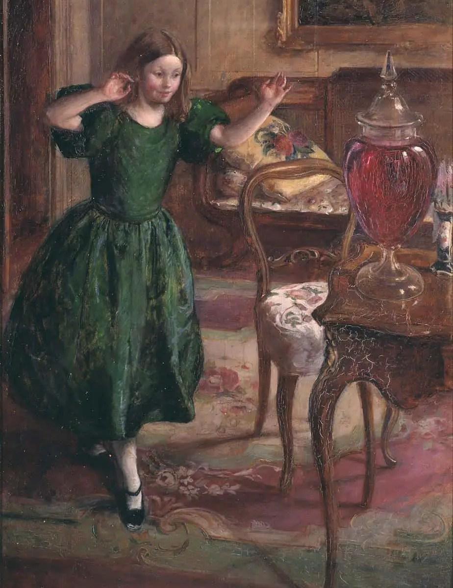 Rosamund and the Purple Jar exhibited 1900 Henry Tonks 1862-1937