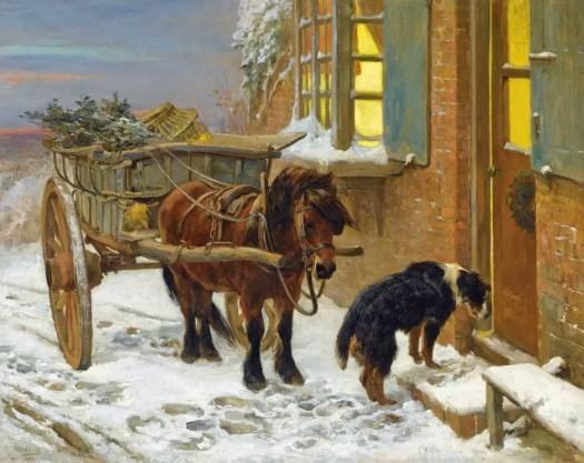 John Sargeant Noble - Their Christmas Eve