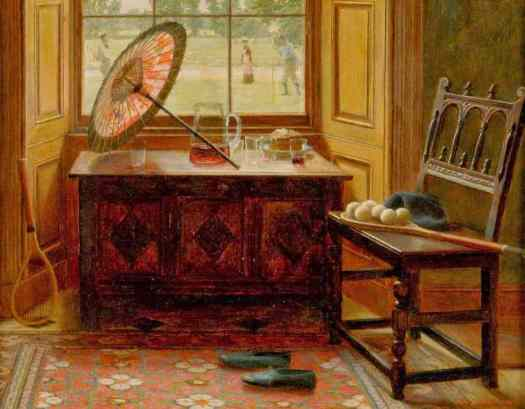 Mary Hayllar - The Lawn Tennis Season 1881