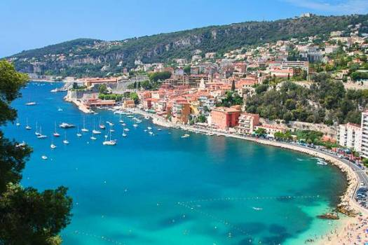 Villefranche Beach, France