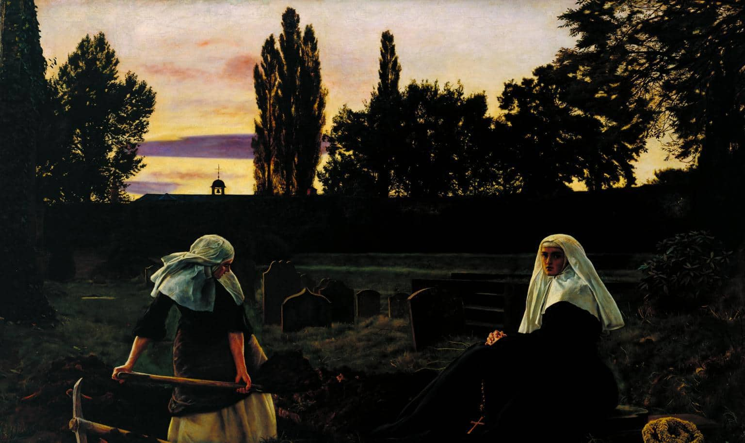 The Vale of Rest 1858-9 Sir John Everett Millais, Bt 1829-1896