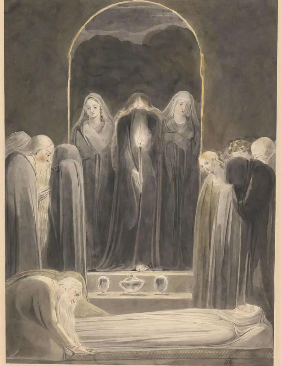 The Entombment c.1805 William Blake 1757-1827