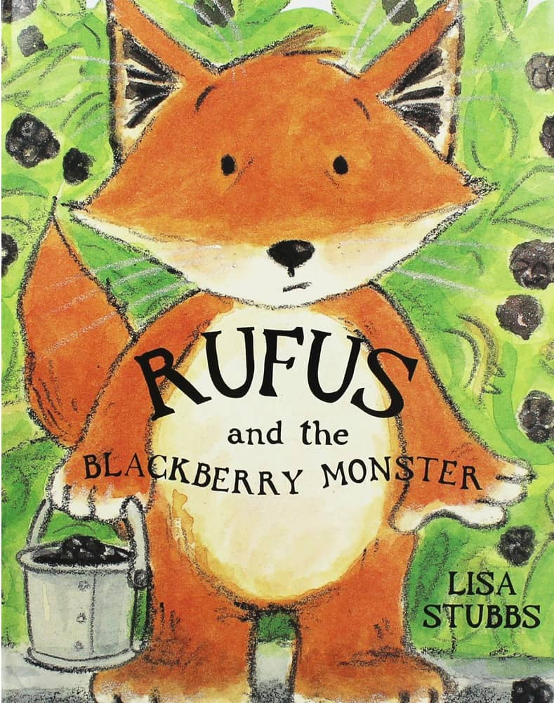 Rufus and the Blackberry Monster Cover