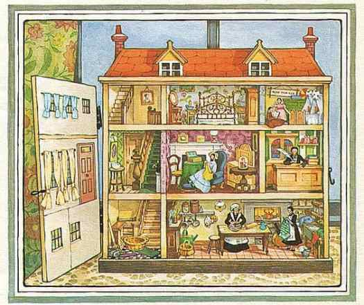 Faith Jacques, Tilly's House. Picture Lions-paperback 1981