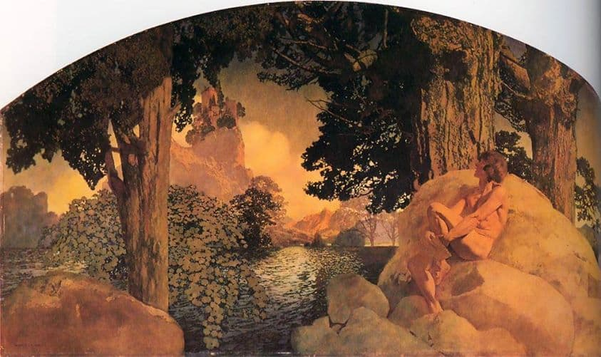 Maxfield Parrish - Dream Castle in the Sky