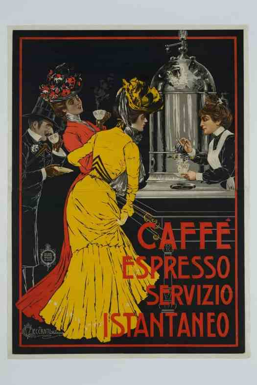 Poster by Vincenzo Ceccanti, about 1900