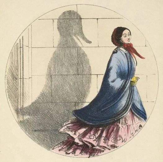 'Shadows' 1850 Charles Bennett (1829-67) duck shadow
