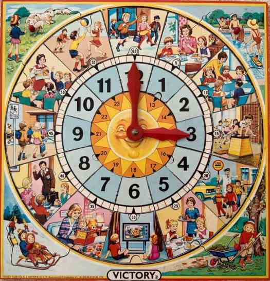 illustration-of-a-child's-day-on-a-teaching-clock-jigsaw