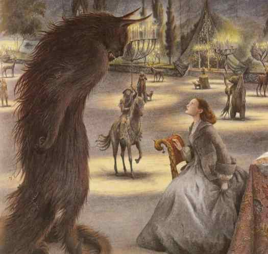 Beauty and the Beast as illustrated by Angela Barrett is also wonderful.