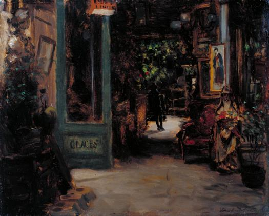 Old Curiosity Shop, Dieppe c.1895 Bernard Sickert