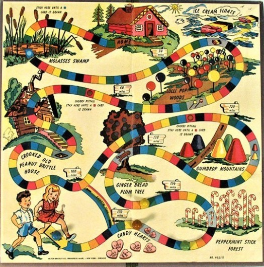 Eleanor Abbott, a young San Diego school teacher invented Candy Land in 1948 in the midst of a polio epidemic