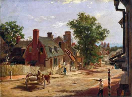 Francis Blackwell Mayer - Old Annapolis, Francis Street