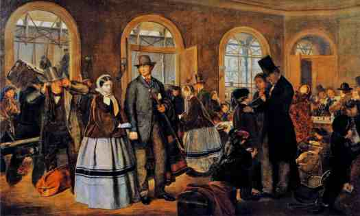 Frederick Bacon Barwell - Parting Words, Fenchurch Street Station