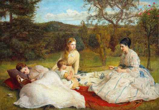 James Archer - The Picnic 1870