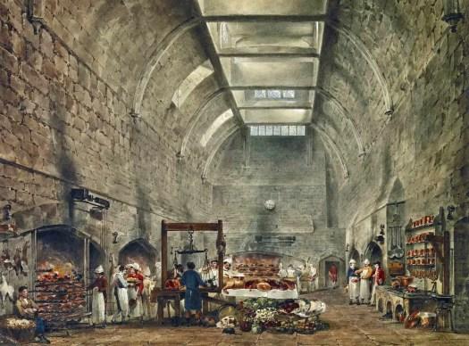 James Stephanoff - Windsor Castle, Kitchen