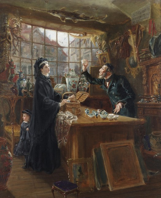 Ralph Hedley - The Old China Shop
