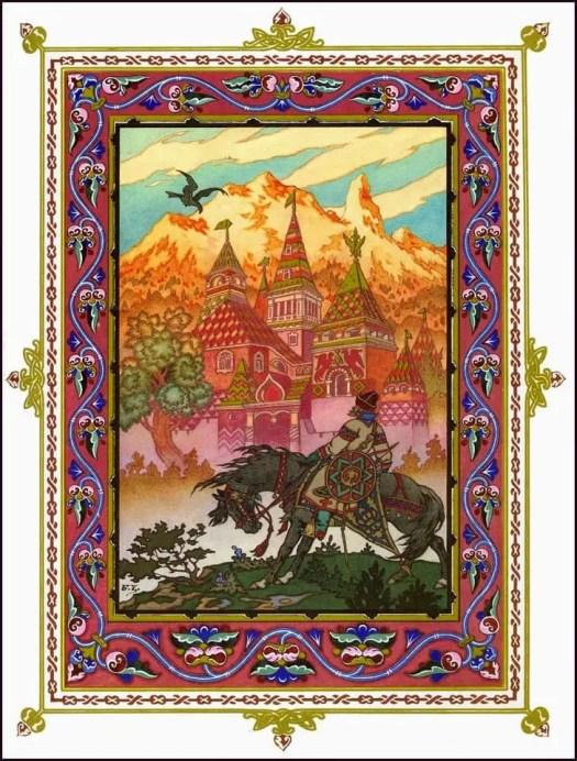 Russian artist Boris Zvorykin (1872-1942) castle