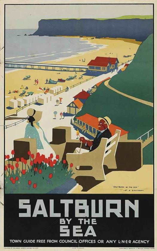 Saltburn By The Sea Henry George Gawthorn (1879-1941)