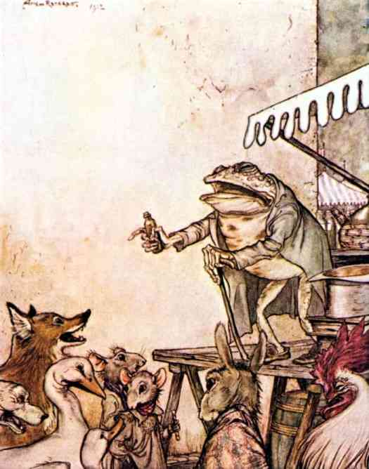 By-Arthur-Rackham-The-Quack-Frog-Aesops-Fables-VS-Vernon-Jones-1912