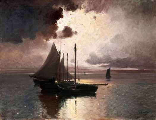 Carl Brandt (1871 - 1930) After the Storm, 1914
