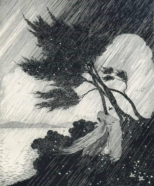Ida Rentoul Outhwaite 1888 - 1960 The Storm