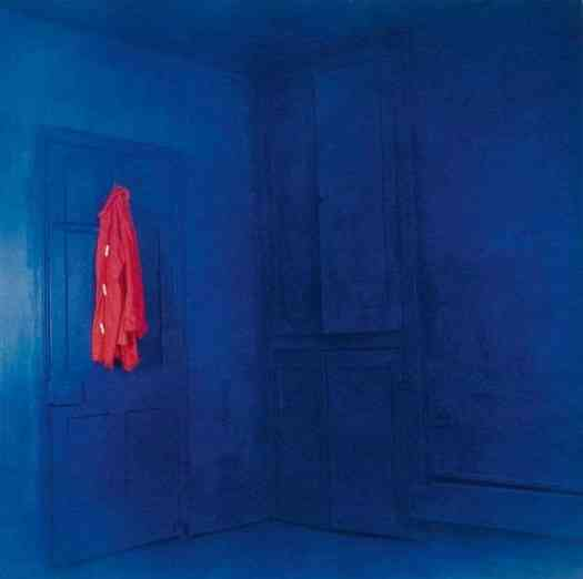 John Hilliard Red Coat, Blue Room, 1969