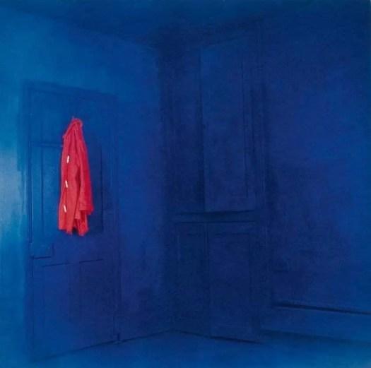 John Hilliard Red Coat, Blue Room, 1969
