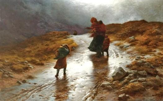 Joseph Farquharson - Cauld Blaws the Wind frae East to West