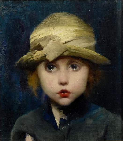 Marianne Stokes - A Tearful Child