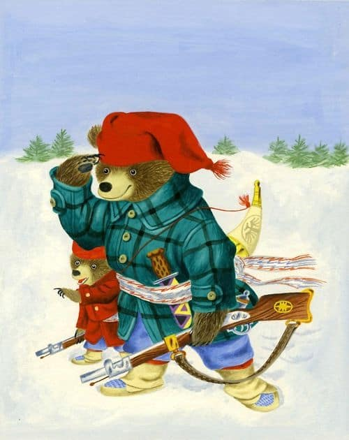 Richard Scarry (1919-1994), Pierre Bear , 1954 gun
