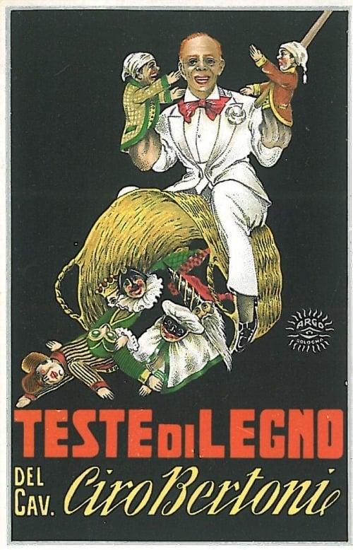 'The Wooden Heads of Ciro Bertoni Esq.' Poster by Argo, circa 1930