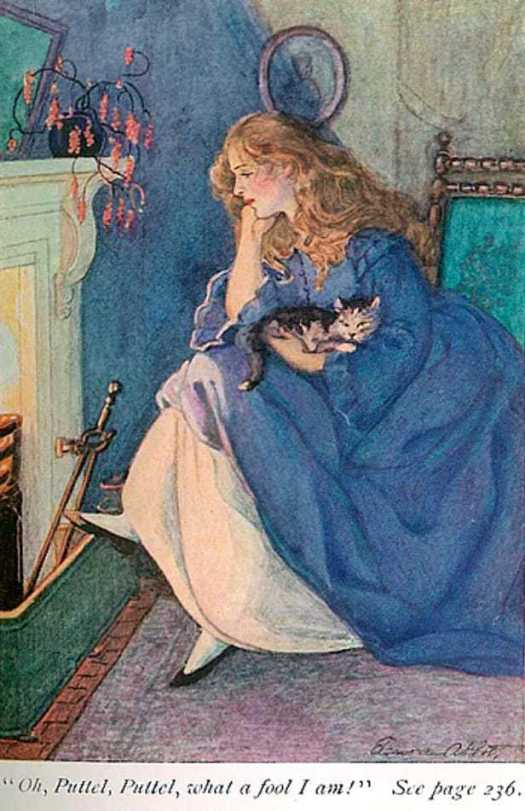 An Old-fashioned Girl by L.M. Alcott, illustrated by Eleanore Abbott ca.1926