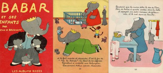 From Brunhoff, Jean, BABAR and his Children, 1953