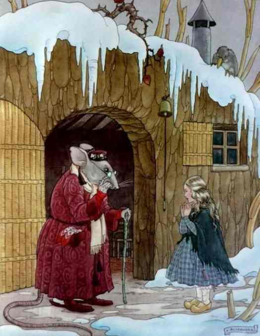Thumbelina by Hans Christian Andersen illustrated by Vittorio Accornero de Testa